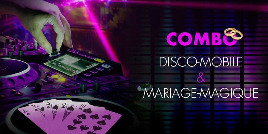 combo disco magie mariage